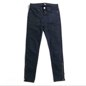 UO BDG Jeans ankle zipper moto black skinny 27